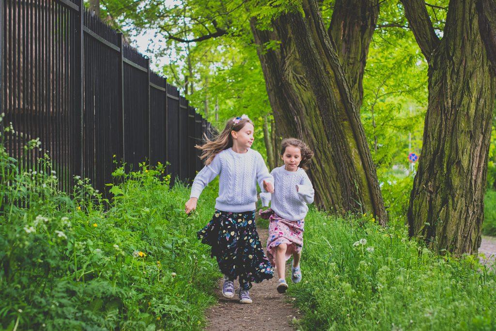 wiosna i dzieci