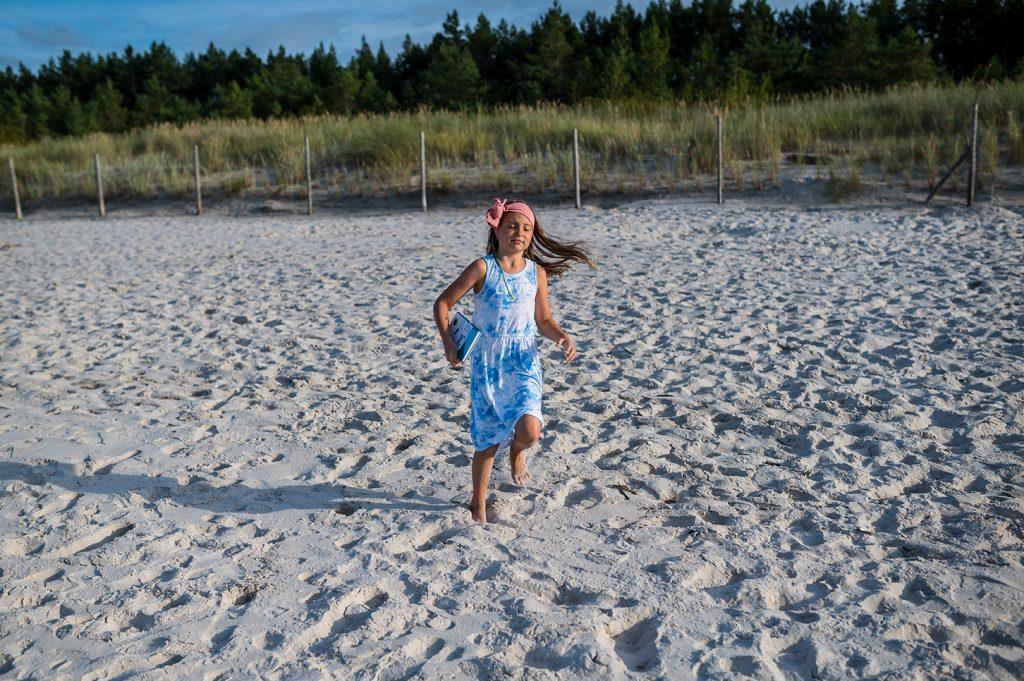 Tosia i przygoda na plaży